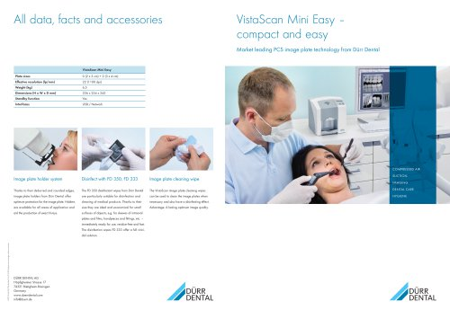 Brochure VistaScan Mini Easy