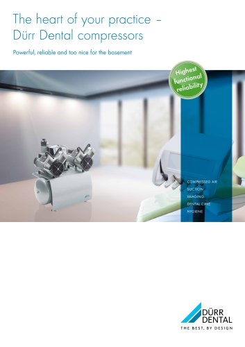 The heart of your practice– Dürr Dental compressors