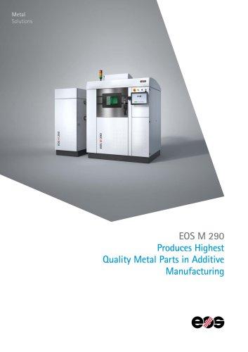 System Data Sheet EOS M 290