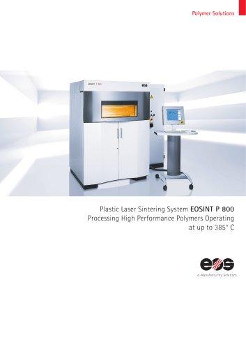 System Data Sheet EOSINT P 800