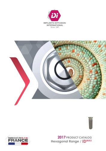 2017 PRODUCT CATALOG Hexagonal Range / IDMAX