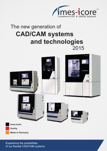 CAD/CAM Systems and Technologies 2015
