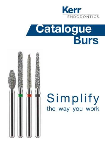 Catalogue Burs