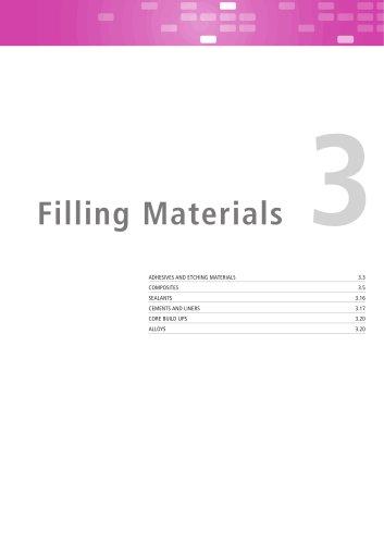 Filling Materials