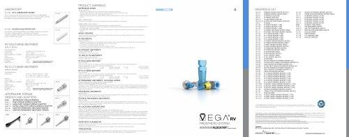 VEGA Prosthetic System RV - KLOCKNER, S A  - PDF Catalogs