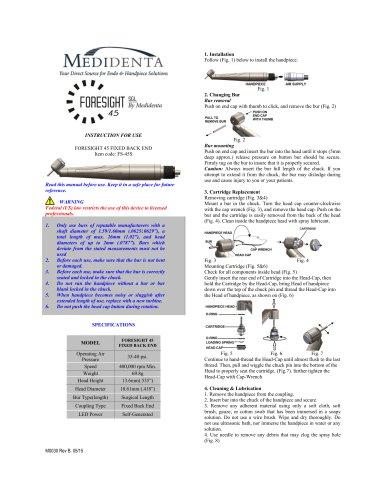 Foresight 45 SGL