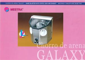 "R-080235 SANDBLASTER WITH STATIC GUN AND BASKET ""GALAXY"""
