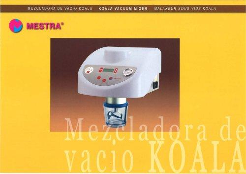 R-080520 KOALA VACUUM MIXER
