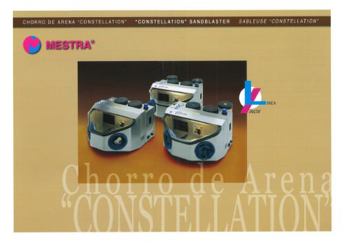 "STAINLESS STEEL ""CONSTELLATION"" SANDBLASTER"