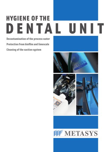 Hygiene of the Dental Unit