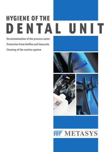 Hygiene of the Dental Unit