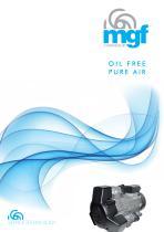 PURE AIR oil-free compressors 2016 catalogue