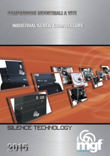 Silenced screw compressors - 2015