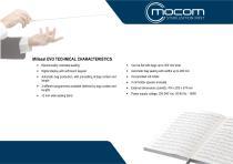Millseal EVO TECHNICAL CHARACTERISTICS