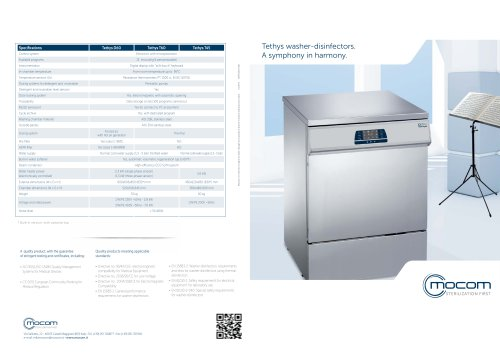 Tethys washer-disinfectors