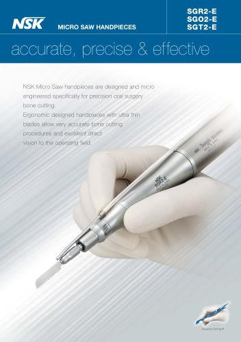 MICRO SAW HANDPIECES