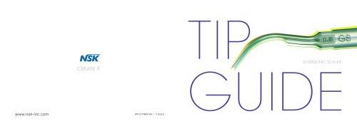 TIP GUIDE (Ultrasonic scaler)