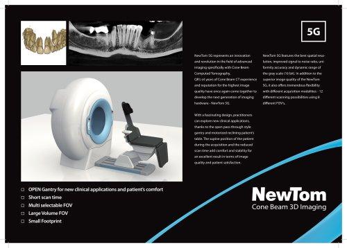 NewTom 5G Specification Sheet