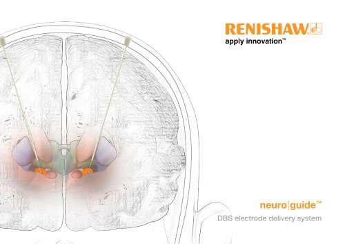 Brochure : neuroguide DBS electrode delivery system