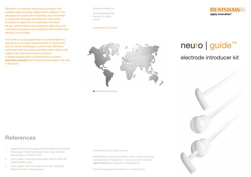 Neuroguide leaflet