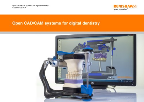 Open CADCAM systems for digital dentistry