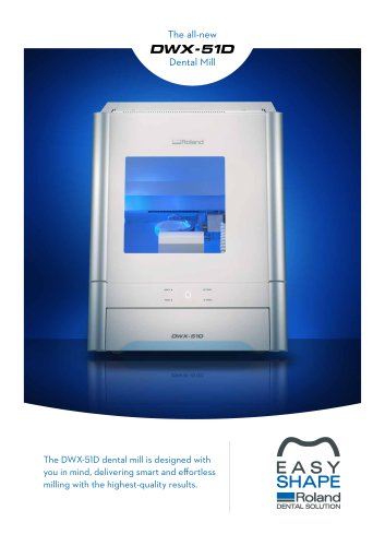 DWX-51D Dental Mill