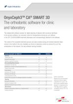 OnyxCeph3TM CA® SMART 3D