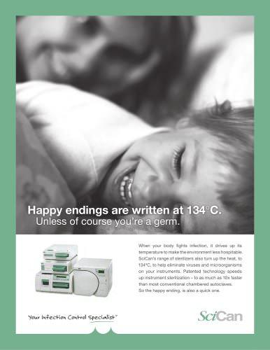SciCan autoclave overview brochure