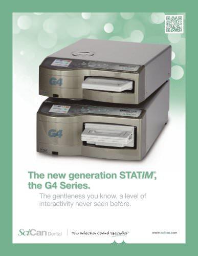 STATIM G4 cassette autoclave brochure