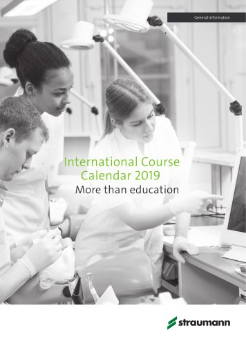 International Course Calendar 2018