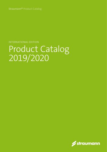Product Catalog 2019/2020