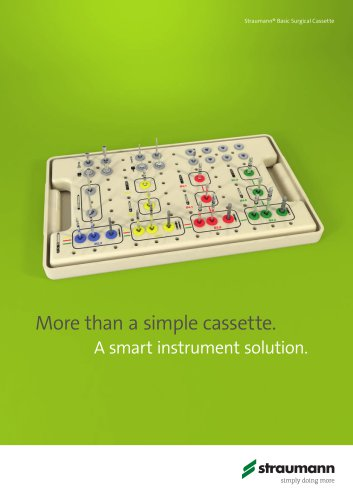 Straumann® Basic Surgical Cassette