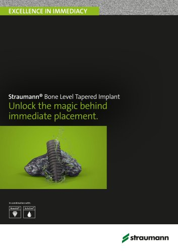 Straumann® Bone Level Tapered Implant