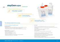 stayClean wipes