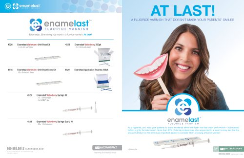 Enamelast Sales Sheet
