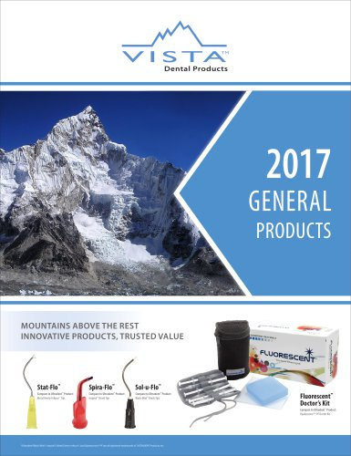 General Product Catalog