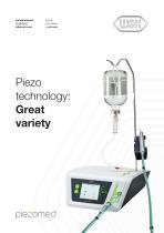 Piezo  technology: Great  variety - 1