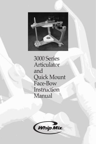 3000 Series Instruction Manual