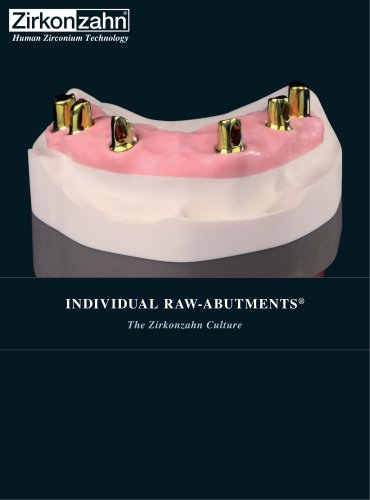 Insert Raw-Abutment®