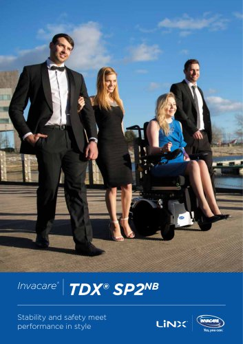 INVACARE -TDX SP2 NB - BROCHURE - POWERWHEELCHAIR