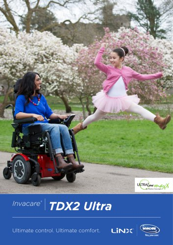 INVACARE - TDX2 ULTRA - POWER WHEELCHAIR - BROCHURE