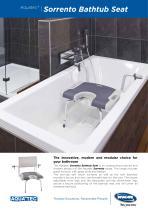 SORRENTO BATHTUB SEAT