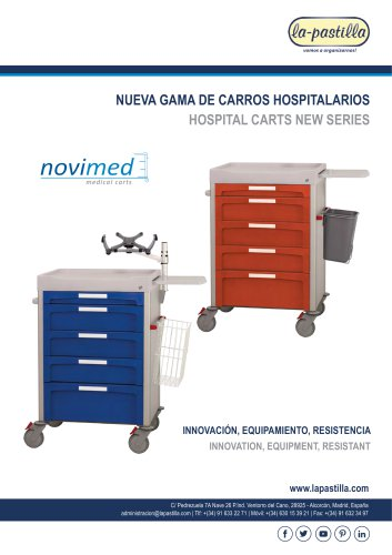 HOSPITAL CARTS NEW SERIES