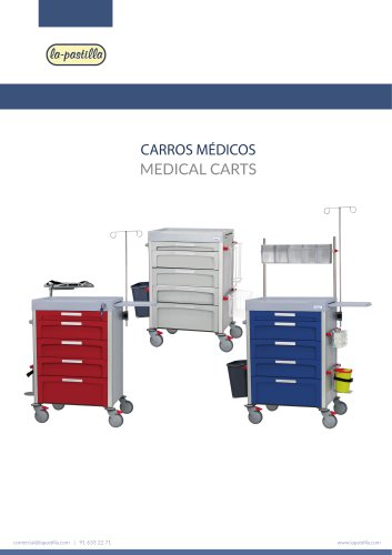 Novimed Carros Médicos / medical cart