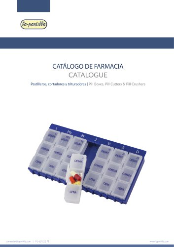 Pharmacy Catalog