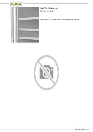 SHELF FOR ARM-6040-2