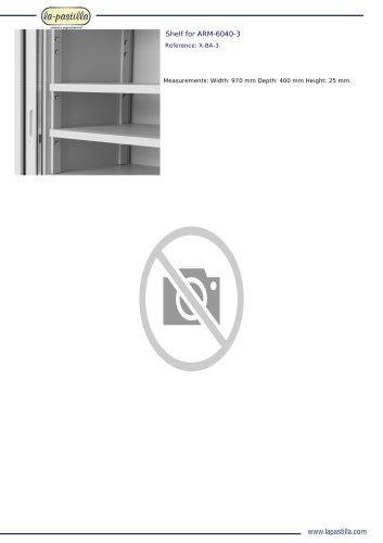 SHELF FOR ARM-6040-3