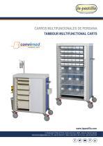 Tambour Multifunctional Carts Convimed