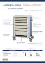 Tambour Multifunctional Carts Convimed - 2