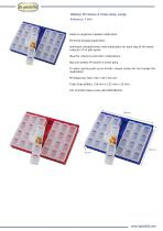 WEEKLY PILL BOXES 4 TIMES DAILY LARGE - 1